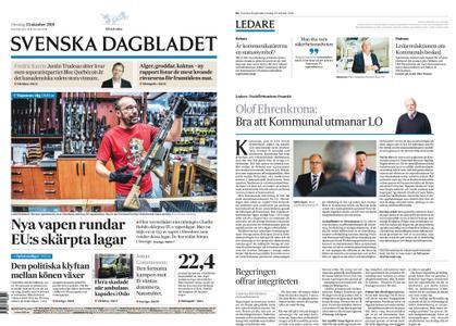 Svenska Dagbladet – 23 oktober 2019