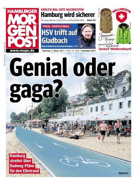 Hamburger Morgenpost - 9 Februar 2017