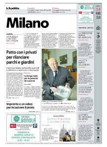 la Repubblica Milano - 14 Agosto 2018