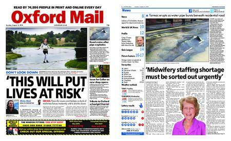 Oxford Mail – August 14, 2018