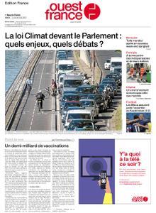Ouest-France Édition France – 29 mars 2021