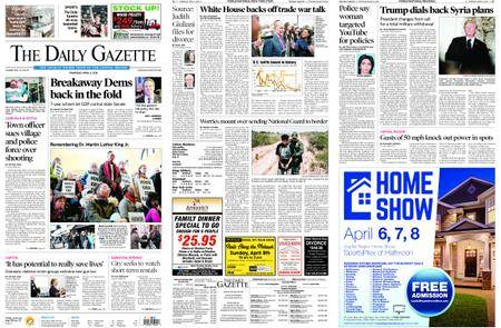 The Daily Gazette – April 05, 2018