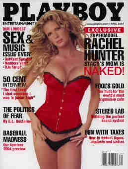 Playboy Magazine - April 2004