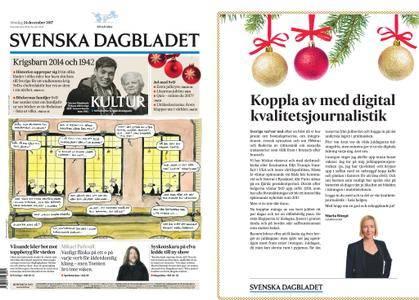 Svenska Dagbladet – 24 december 2017