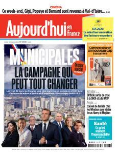 Aujourd'hui en France - 13 Janvier 2020
