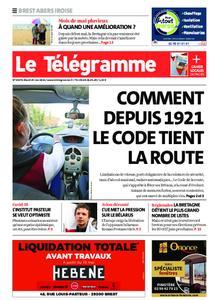 Le Télégramme Brest Abers Iroise – 25 mai 2021