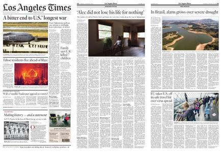 Los Angeles Times – August 31, 2021