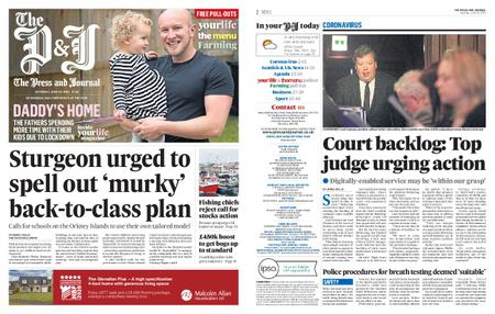 The Press and Journal Moray – June 20, 2020