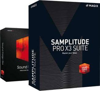 MAGIX Samplitude Pro X3 Suite 14.3.0.460