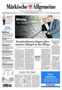 Neue Oranienburger Zeitung - 02. Februar 2018