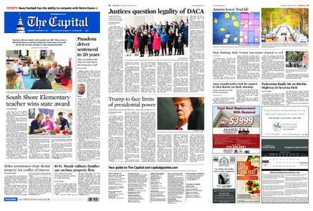 The Capital – November 13, 2019