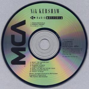 Nik Kershaw - Radio Musicola (1986) [1987, Japan]
