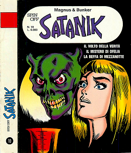 Spin-Off - Volume 10 - Satanik 4