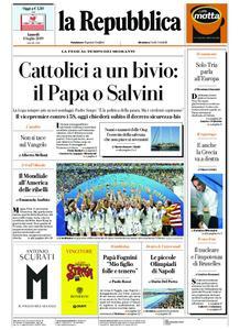 la Repubblica – 08 luglio 2019