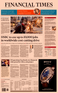 Financial Times USA – 07 October 2019