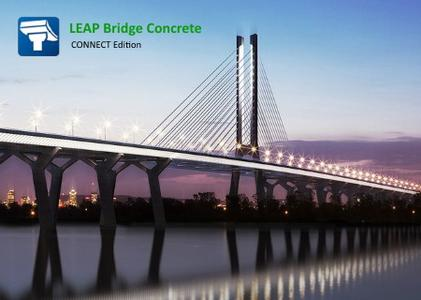 LEAP Bridge Concrete CONNECT Edition V19