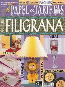 Papel & Tarjetas - Quilling-Filigrana