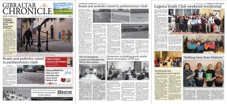 Gibraltar Chronicle – 25 February 2019