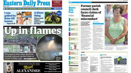 Eastern Daily Press – August 29, 2019