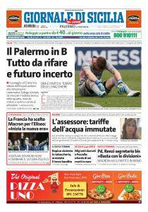 Giornale di Sicilia - 8 Maggio 2017