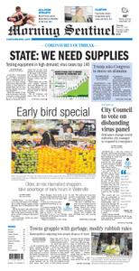 Morning Sentinel – March 26, 2020