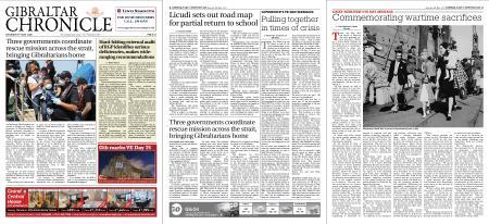 Gibraltar Chronicle – 09 May 2020
