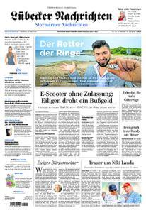 Lübecker Nachrichten Stormarn - 22. Mai 2019