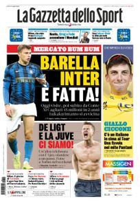 La Gazzetta dello Sport Roma – 12 luglio 2019