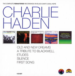 Charlie Haden - The Complete Remastered Recordings On Black Saint & Soul Note (2010) {5CD Set CAM Jazz BXS1001 rec 1977-1990}