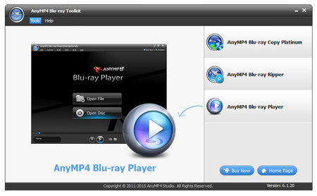 AnyMP4 Blu-ray Toolkit 6.1.28 Multilingual