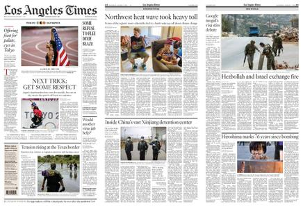 Los Angeles Times – August 07, 2021