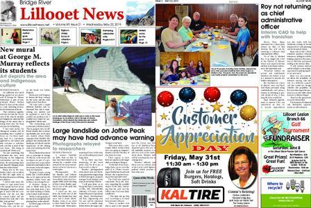 Bridge River Lillooet News – May 22, 2019