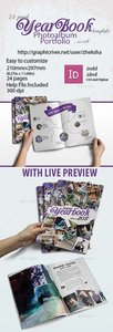GraphicRiver Modern Complex Yearbook