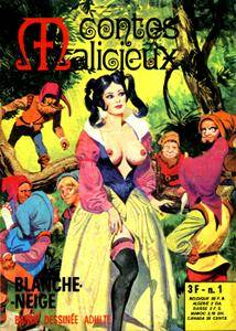 Contes Malicieux - Tome 1 : Blanche-Neige