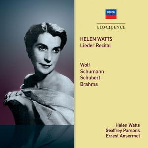 L'Orchestre de la Suisse Romande, Ernest Ansermet, Helen Watts, Geoffrey Parsons - Helen Watts - Lieder Recital (2019)