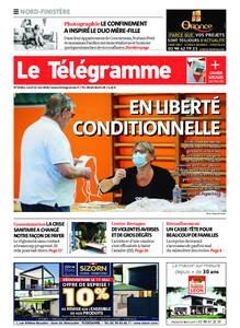 Le Télégramme Brest Abers Iroise – 11 mai 2020