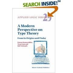 A Modern Perspective on Type Theory: From its Origins until Today