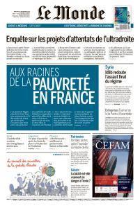 Le Monde du Mercredi 5 Septembre 2018