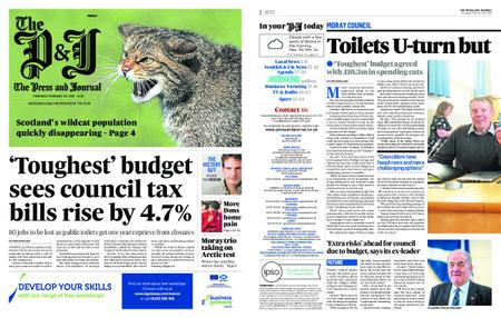 The Press and Journal Moray – February 28, 2019