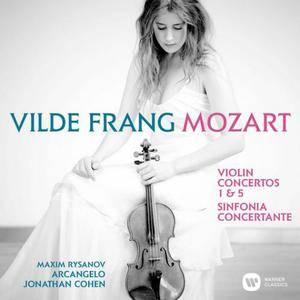 Vilde Frang, Jonathan Cohen - Mozart: Violin Concertos Nos 1, 5 & Sinfonia concertante (2015)