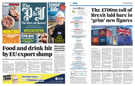 The Press and Journal Moray – March 13, 2021