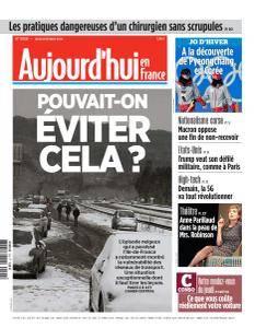 Aujourd'hui en France du Jeudi 8 Février 2018