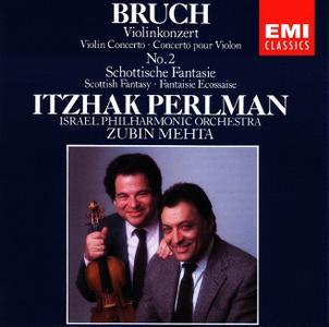 Itzhak Perlman, Zubin Mehta, Israel Philharmonic Orchestra - Bruch: Violinkonzert Nr.2, Schottische Fantasie (1988)