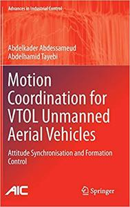 Motion Coordination for VTOL Unmanned Aerial Vehicles: Attitude Synchronisation and Formation Control