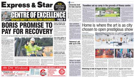 Express and Star City Edition – July 01, 2020