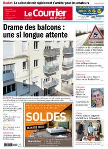 Le Courrier de l'Ouest Cholet – 12 février 2021