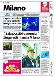 la Repubblica Milano – 04 maggio 2019