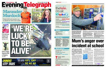 Evening Telegraph First Edition – November 22, 2017