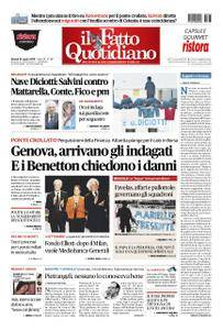Il Fatto Quotidiano - 23 agosto 2018