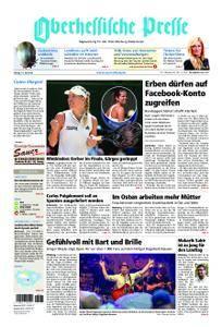 Oberhessische Presse Marburg/Ostkreis - 13. Juli 2018